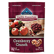 BLUE Earth's Essentials Dog Treat - Natural, Cranberry Crunch