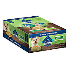 BLUE Divine Delights™ Adult Dog Food - Natural, Variety Pack, 12ct