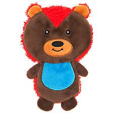 Top Paw® Back To School Flattie Hedgehog Dog Toy