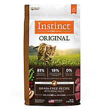 Nature's Variety® Instinct® Original Cat Food - Natural, Grain Free, Duck