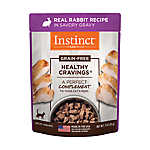 Nature's Variety® Instinct® Healthy Cravings Cat Food Topper - Natural, Grain Free, Rabbit