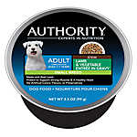 Authority® Small Breed Adult Dog Food - Lamb & Vegetable Stew
