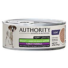 Authority® Immunity + Digestive Health Puppy Food - Turkey