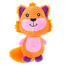 Top Paw® Back to School Cord Fox Dog Toy - Plush
