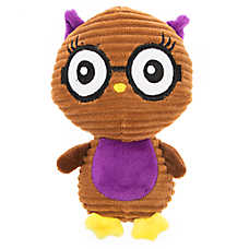 Top Paw® Back to School Cord Owll Dog Toy - Plush