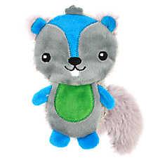 Top Paw® Back to School Flattie Squirrel Dog Toy
