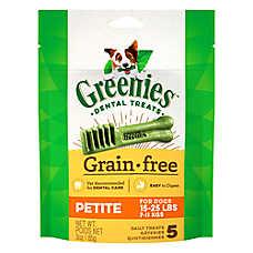 GREENIES® Grain Free Petite Dental Dog Treat