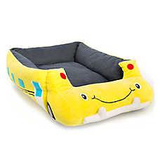 Top Paw® School Bus Cuddler Pet Bed