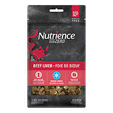 Nutrience® SubZero Single Protein Cat Treat - Natural, Grain Free, Freeze Dried, Beef
