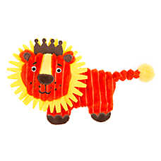 Top Paw® Flattie Profile Lion Dog Toy