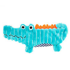 Top Paw® Alligator Flattie Dog Toy