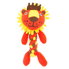 Top Paw® Lion Dog Toy - Fleece