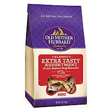 Old Mother Hubbard Extra Tasty Assortment Mini Dog Treat - Natural