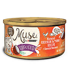 Muse® Infused Adult Cat Food - Natural, Grain Free, Salmon