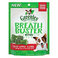 GREENIES® Breath Buster Bites Dental Dog Treat - Grain Free, Crisp Apple