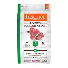 Nature's Variety® Instinct® Limited Ingredient Diet Adult Dog Food - Natural, Grain Free, Raw, Lamb