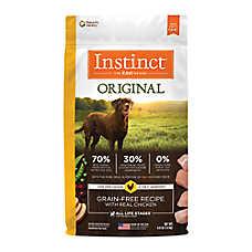 Nature's Variety® Instinct® Original Adult Dog Food - Natural, Grain Free, Raw, Chicken