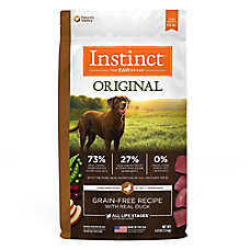 Nature's Variety® Instinct® Original Dog Food - Natural, Grain Free, Raw, Duck