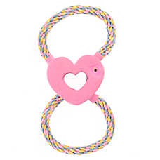 Top Paw® Heart Rope Dog Toy