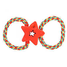 Top Paw® Star with Rope Dog Toy
