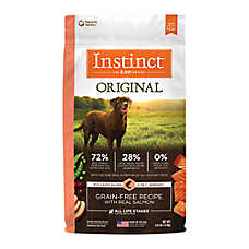 Nature's Variety® Instinct® Original Dog Food - Natural, Grain Free, Raw, Salmon