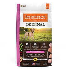 Nature's Variety® Instinct® Original Small Breed Dog Food - Natural, Grain Free, Raw, Chicken