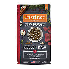 Nature's Variety® Instinct® Raw Boost Dog Food - Natural, Grain Free, Raw, Beef