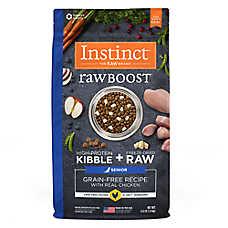 Nature's Variety® Instinct® Raw Boost Senior Dog Food - Grain Free, Freeze Dried Raw, Chicken