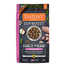 Nature's Variety® Instinct® Raw Boost Small Breed Dog Food - Grain Free, Freeze Dried Raw, Chicken