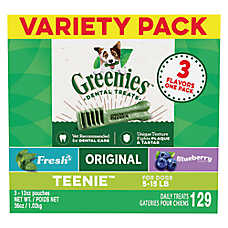 GREENIES® Teenie Dental Dog Treat - Variety Pack