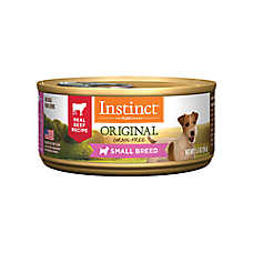 Nature's Variety® Instinct® Small Breed Dog Food - Natural, Grain Free, Beef