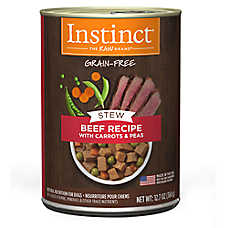 Nature's Variety® Instinct® Grain Free Stew Dog Food - Natural, Beef