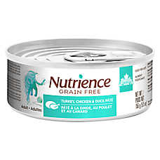 Nutrience® Grain Free Adult Cat Food - Natural, Turkey, Chicken & Duck Pate