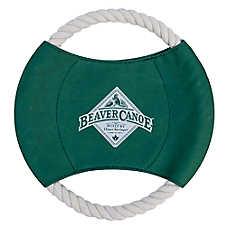 Beaver Canoe Rope Wheel Dog Toy