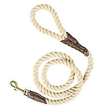 Beaver Canoe Natural Rope Dog Leash