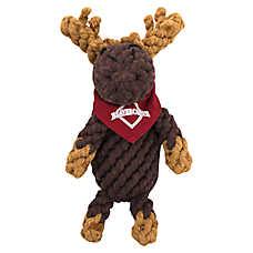 Beaver Canoe Moose Dog Toy - Rope
