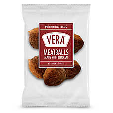 Vera Premium Meatballs Adult Dog Treat - Chicken