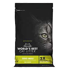 World's Best Cat Litter™ Advanced Zero Mess Cat Litter - Clumping, Pine