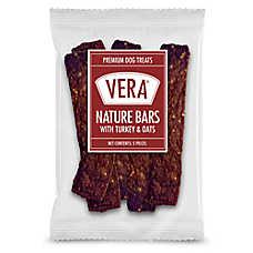 Vera Premium Nature Bars Adult Dog Treat - Non-GMO, Turkey & Oats