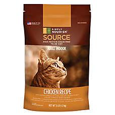 Simply Nourish™ SOURCE Indoor Adult Cat Food - Natural, Grain Free, Chicken