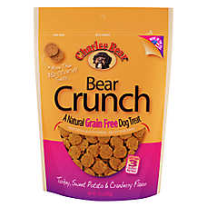 Charlee Bear Dog Treat - Natural, Grain Free, Turkey, Sweet Potato & Cranberry