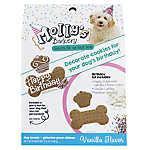 Molly's Barkery Birthday Decorating Cookie Kit Dog Treat - Vanilla