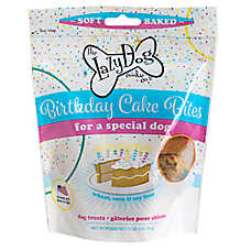 The Lazy Dog Cookie Co. Birthday Cake Bites Dog Treat