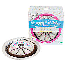 The Lazy Dog Cookie Company Pup-Pie Dog Treat - Happy Birthday