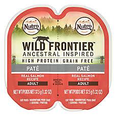 NUTRO™ Wild Frontier Adult Cat Food - Natural, Grain Free, Salmon