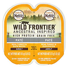 NUTRO™ Wild Frontier Adult Cat Food - Natural, Grain Free, Turkey & Duck