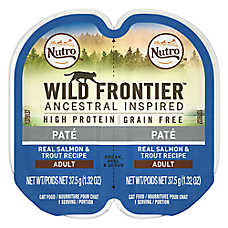NUTRO™ Wild Frontier Adult Cat Food - Natural, Grain Free, Salmon & Trout