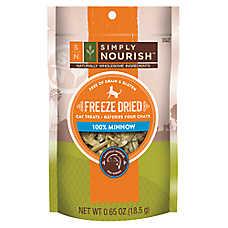 Simply Nourish™ Freeze Dried Minnow Cat Treat - Natural