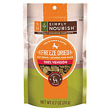 Simply Nourish™ Freeze Dried Venison Liver Cat Treat - Natural