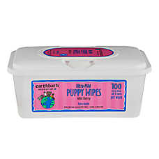earthbath® Wild Cherry Ultra-Mild Puppy Wipes